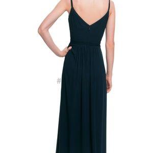 Levkoff Navy Style 7021 Bridesmaid Dress